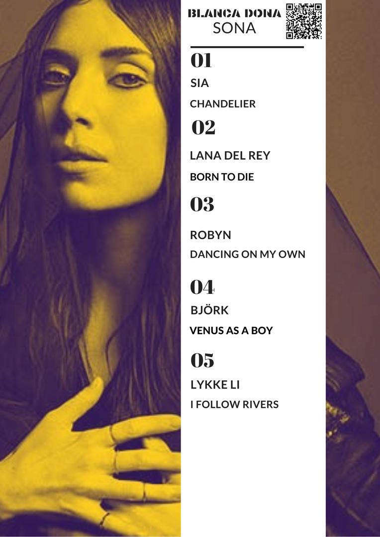 BLANCA DONA SONA 09/11 - 13/11