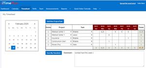 iTimePlus - Free Team Calendar for Employees