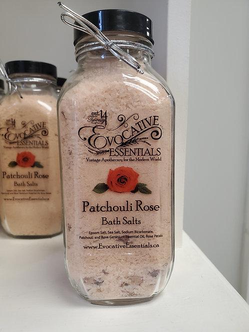Bath Salts - Patchouli Rose