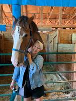 We occassionally like to horse around.
