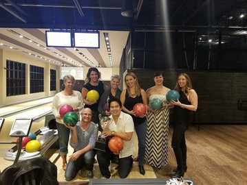 Quantus Team Bowling Event in Edmonton!