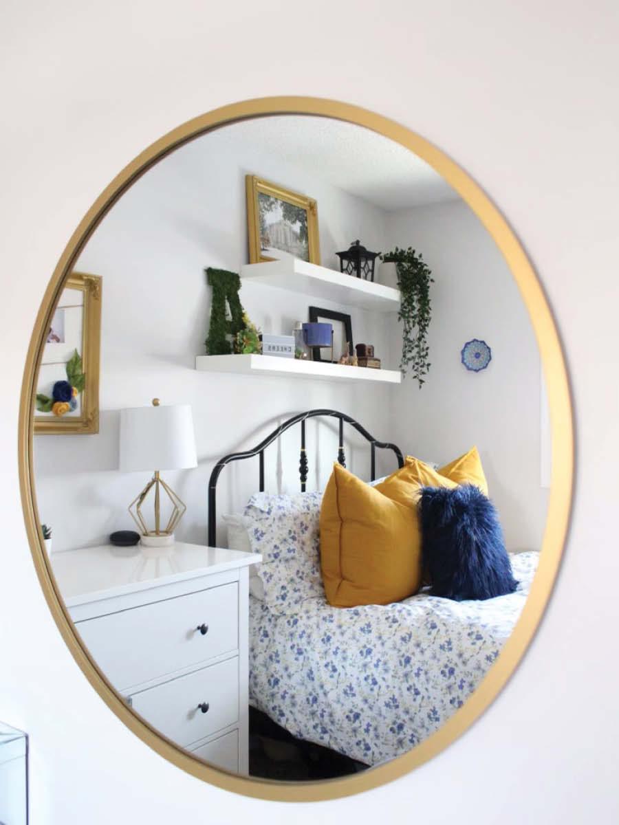 Modern Teen Girl Bedroom Makeover   After Picture