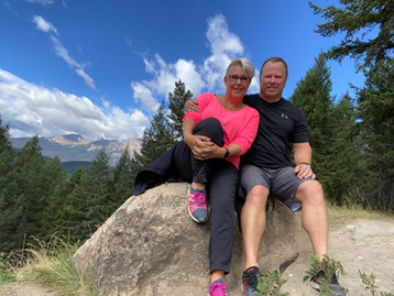 Hiking With My Husband