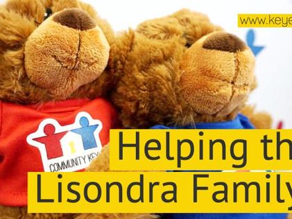 Helping The Lisondra Family