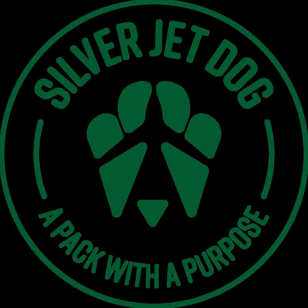 Silve Jet Dog Logo