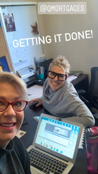 Cara and Karen Getting it Done