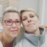 Karen and Cara - The Perfect Team!