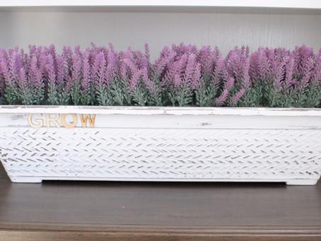 DIY Lavender Planter
