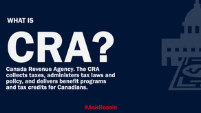 Acronym Monday: CRA