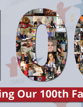 Helping Our 100th Family!