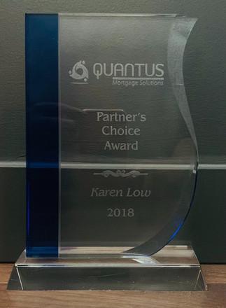 Partner's Choice Award, Karen Low, 2018
