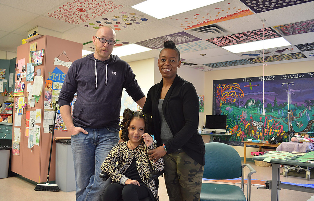Community Key meets Naiya and her mother in hospital.