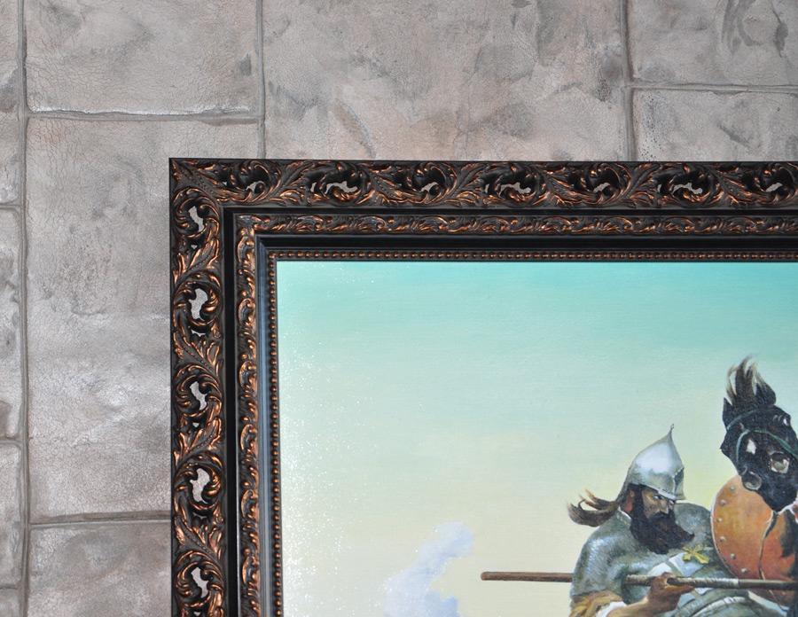 Картина в раме.