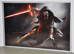 """Постер """"Звездные войны"""" в раме"""