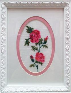 """Вышивка крестиком """"Роза"""""""