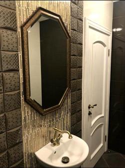 Восьмигранное зеркало.