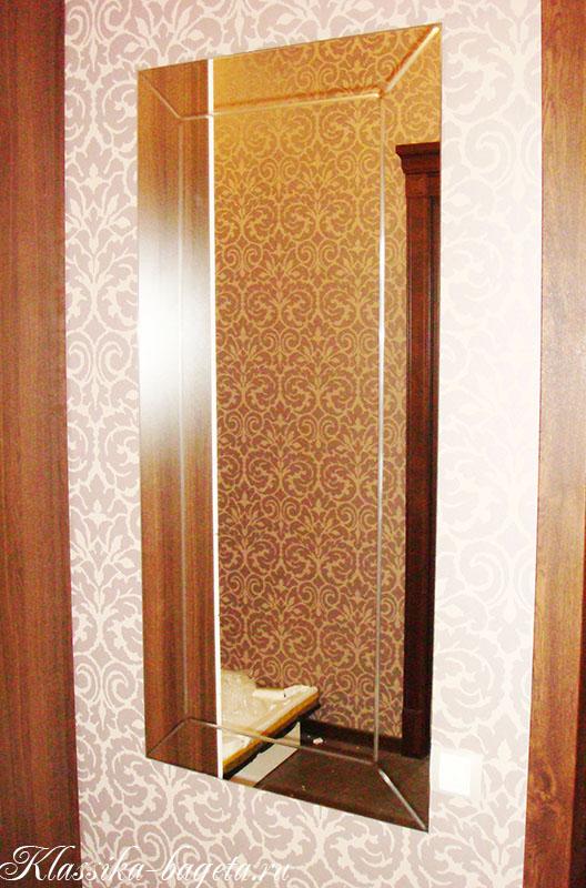 Зеркало с гравировкой
