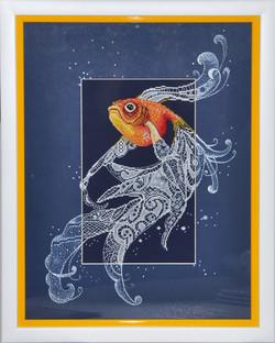 "Вышивка ""Золотая рыбка"""