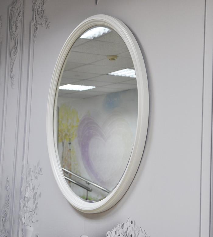 Овальное зеркало с фацетом