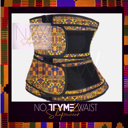 The Akan Double Belted Waist Trainer