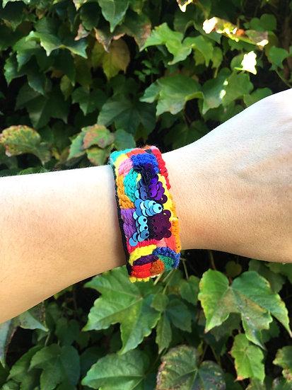 Hand embroidered bangle - 4