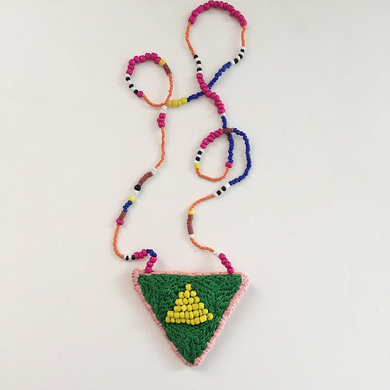 Green & Pink necklace