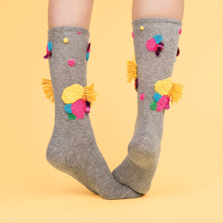 lizpayne for  Frankie Magazine socks