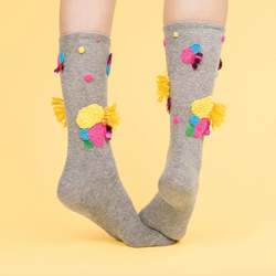 lizpayne for  Frankie Magazine socks