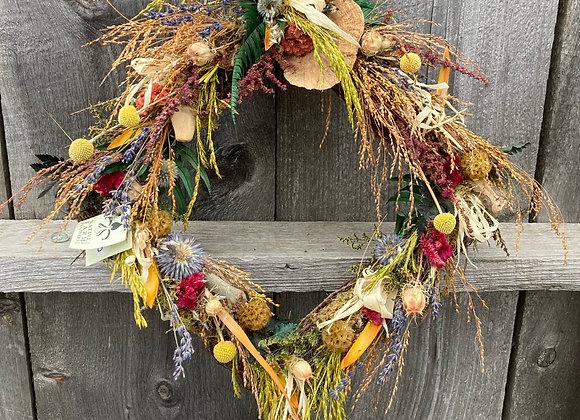 Foraged Botanicals Wreath