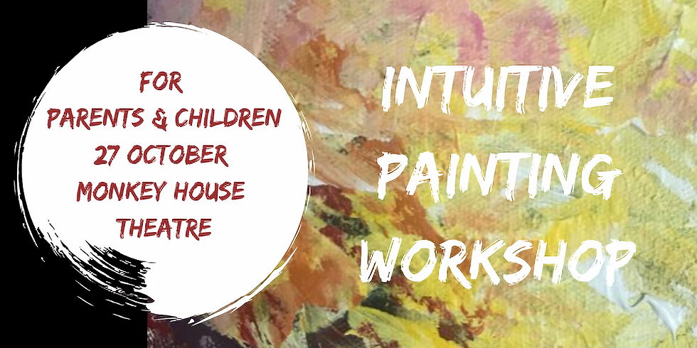 Multi-sensory painting class for parents and children