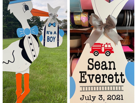 Baby Stork MD (240)863-2873 ~ Private Baby Announcement ~ Maryland