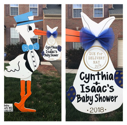 PERSONALIZED Baby Shower Sign