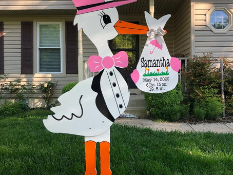 Baby Stork MD (240)863-2873 ~ Stork Delivery Announcements ~ Savage, Maryland