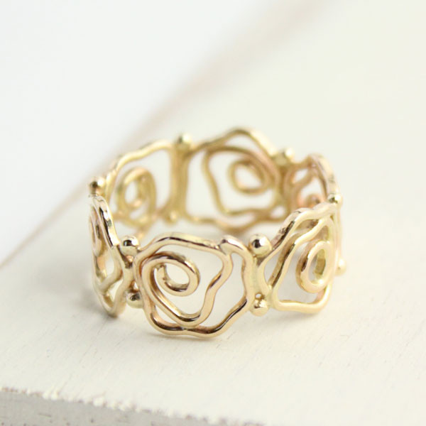 Sarah DeAngleo Delicate Gold Ring