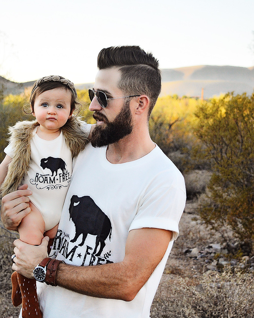 Urban Baby Co makes adorable outfits so you can match with your baby
