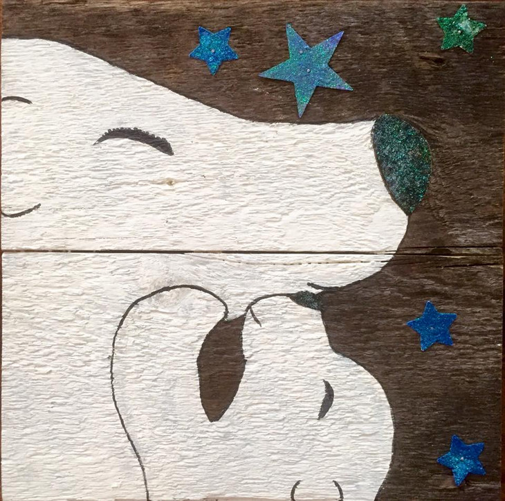 Rustic, Beautiful Art by Fort Collins Featured Artisan, Aluminum Baby