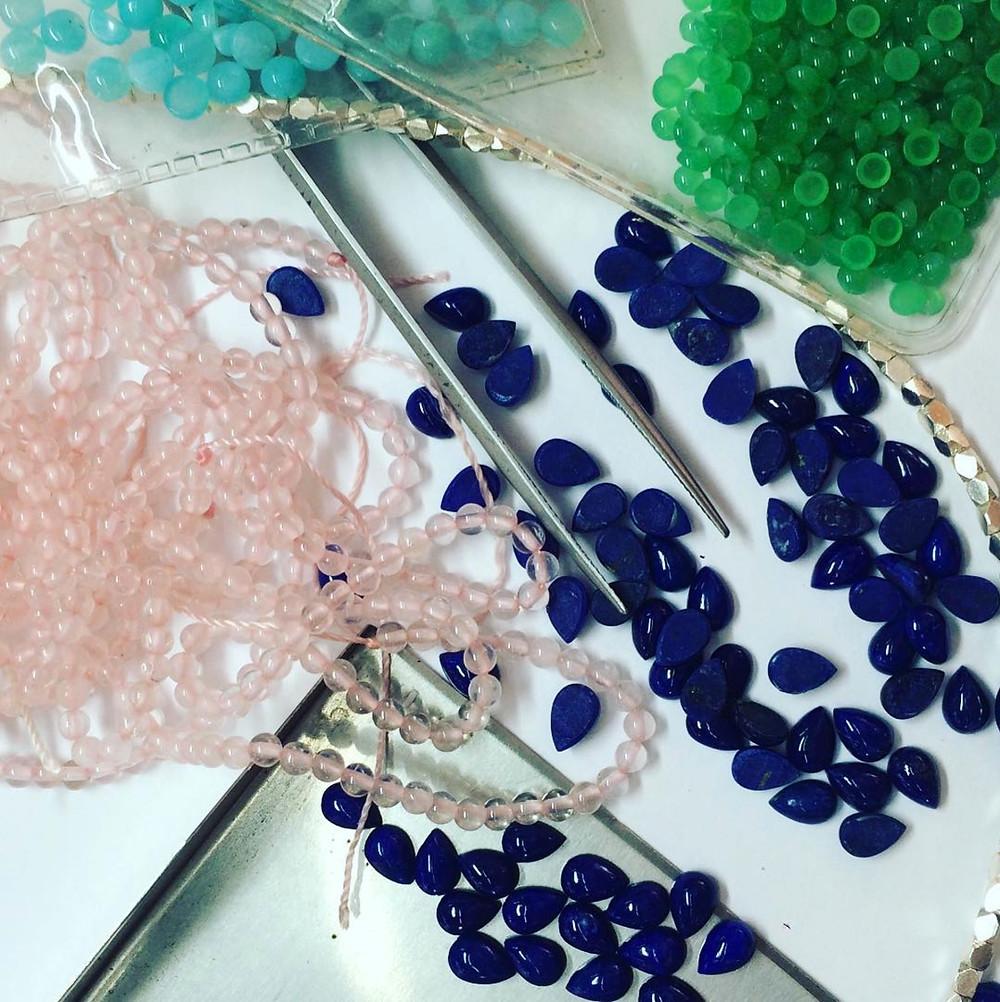 Gemstones for black betty designs