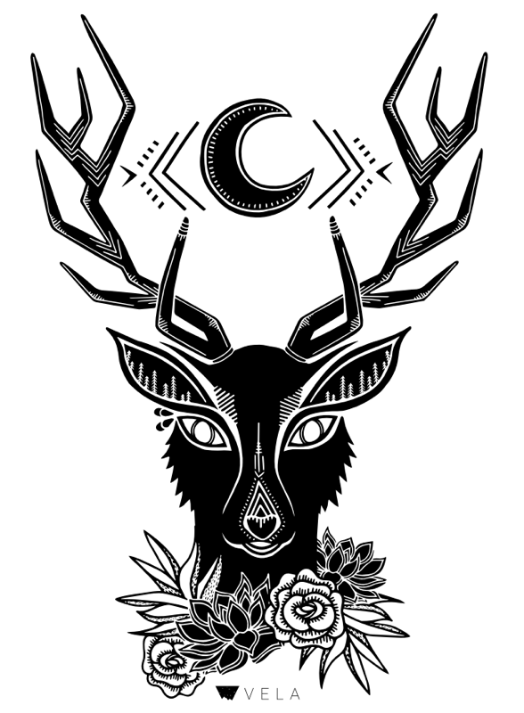 Deer by Vela Apparel