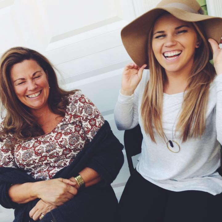 The owner of Urban Baby Co. and her mom