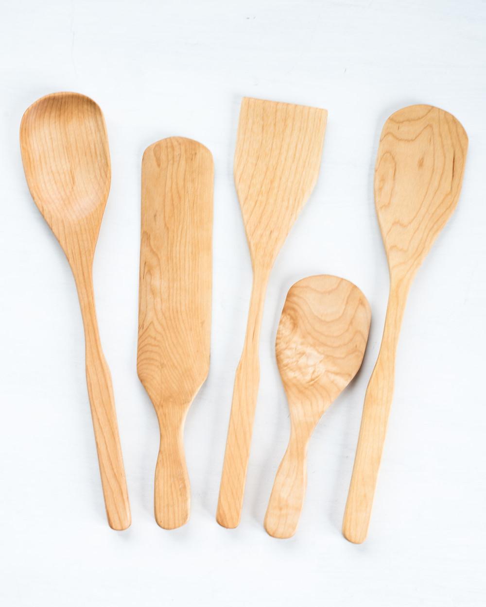 BoWood Company creates gorgeous wooden kitchen utensils