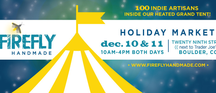 We Just Can't Wait to Share Our Boulder Holiday Market with You, December 10-11!
