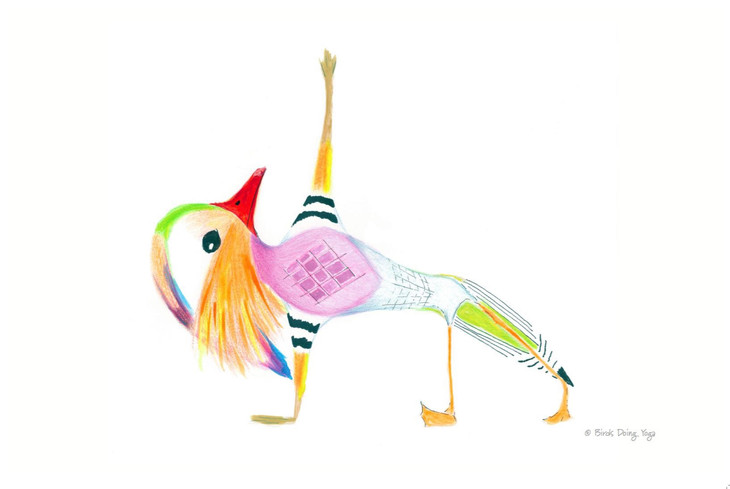 You'll Love Birds Doing Yoga, New & Featured Summer Market Artisan