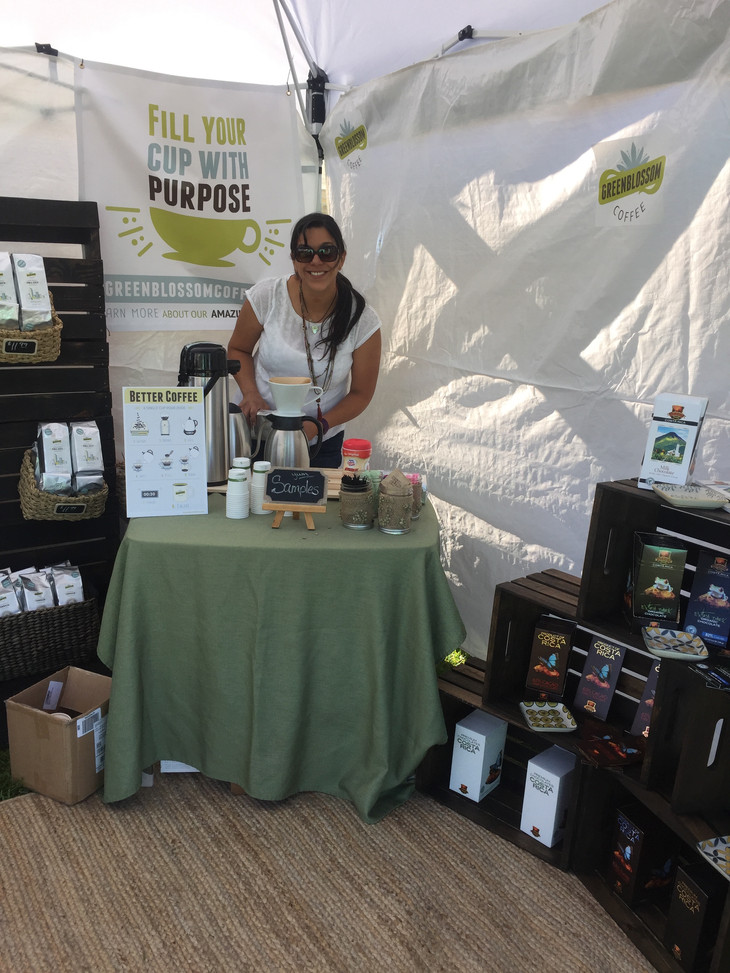 We're Thrilled to Welcome Summer Market Featured Artisan and New Firefly, GreenBlossom Coffee, B