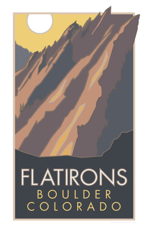 14ers Stickers and Posters