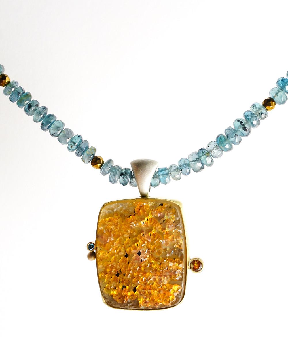 Finer Edge Studio creates gorgeous one-of-a-kind jewelry