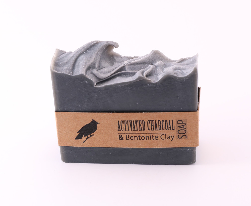 Charcoal in soap! But of course! Jaybird body shop can explain.
