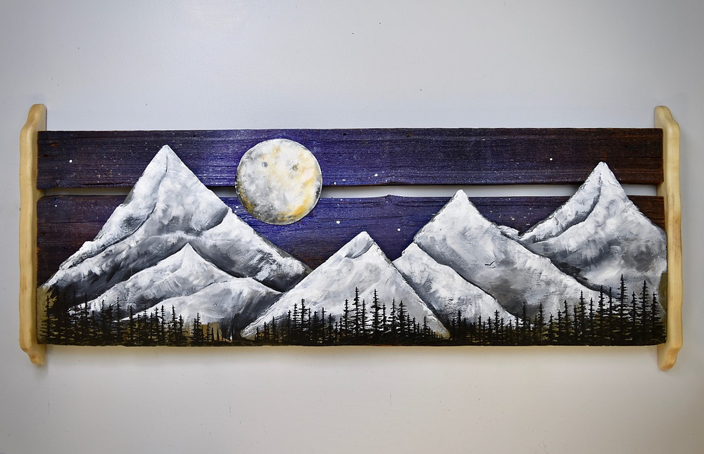 Gorgeous artwork by Basin Reclaimed