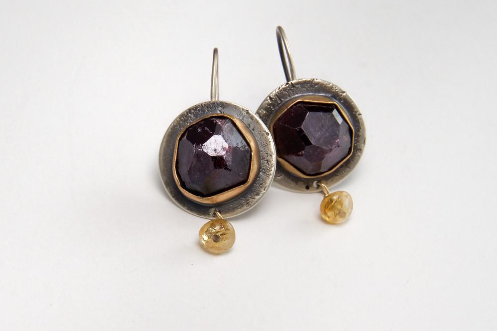 Gorgeous Earrings by Fine Edge Studio