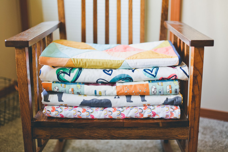 abbey's house, New & Featured Summer Market Artisan, Puts a Whole New Look on Baby Quilts