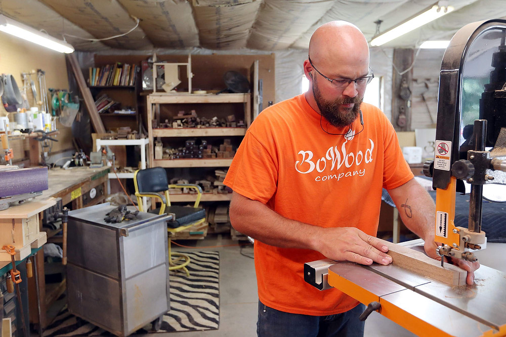 BoWood Company builds all their art by hand